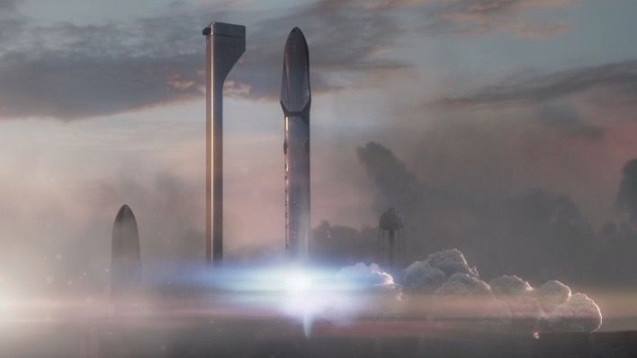 Elon Musk reveals his vision for a Mars colony.