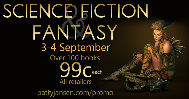 Over 100 Science Fiction and Fantasy Books 99c This Weekend Sep 3-4