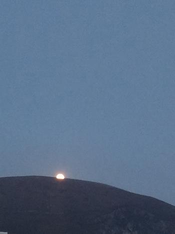 Moonrise Over Mweelin