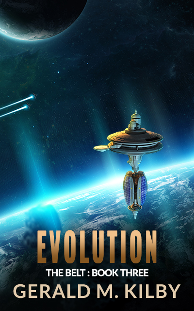 EVOLUTION – Book Three of The Belt Series is OUT NOW!