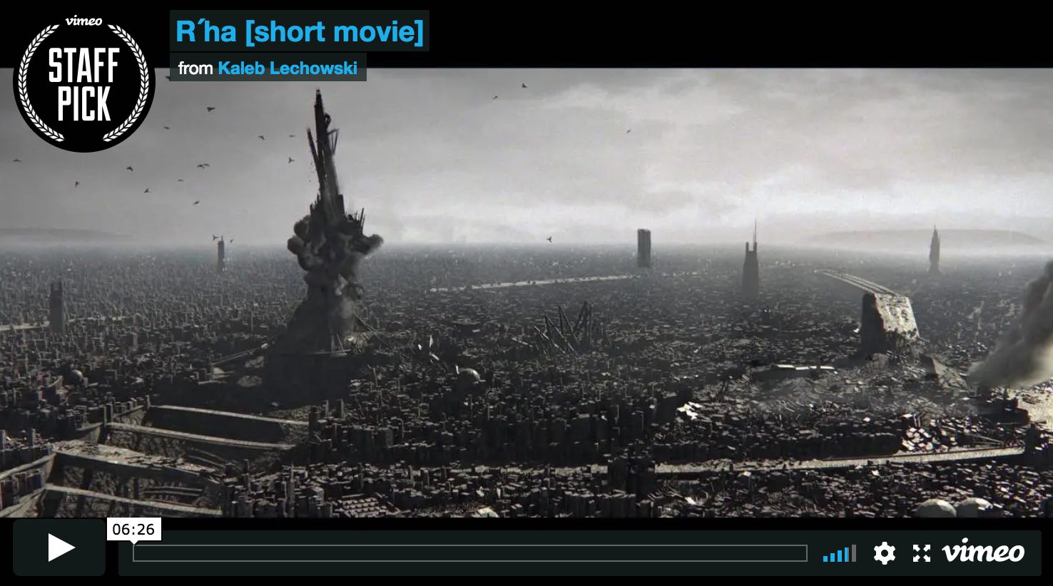 Very Impressive SciFi Short Film – The work of one 22 year-old German student.