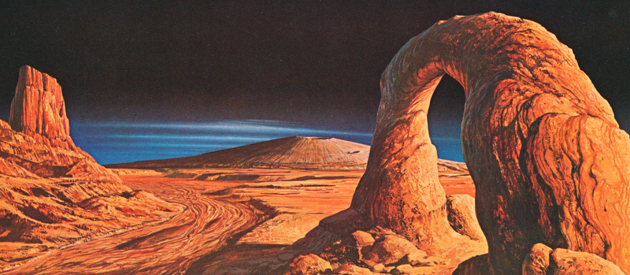 A Brief History of Sci-Fi's Love Affair With the Red Planet.
