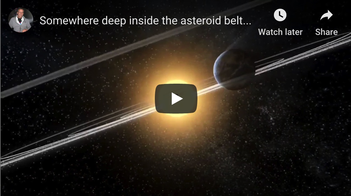 Deep within the asteroid belt…