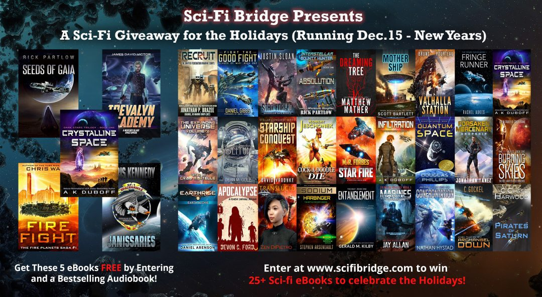 Sci-Fi Bridge Holiday Giveaway!